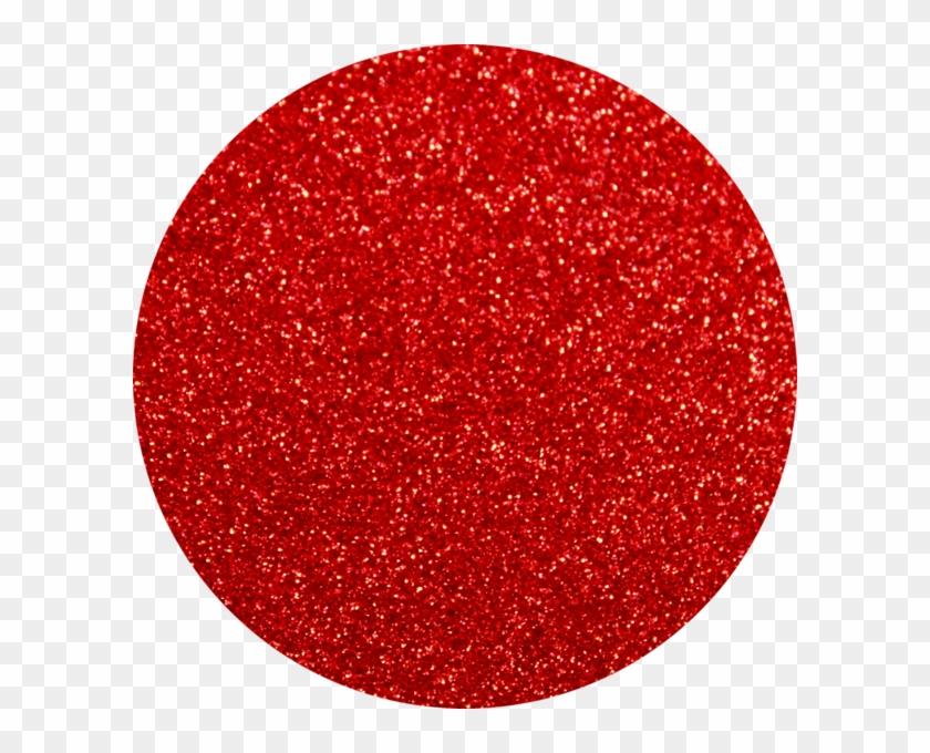 True Red Artglitter - Circle Clipart #600761