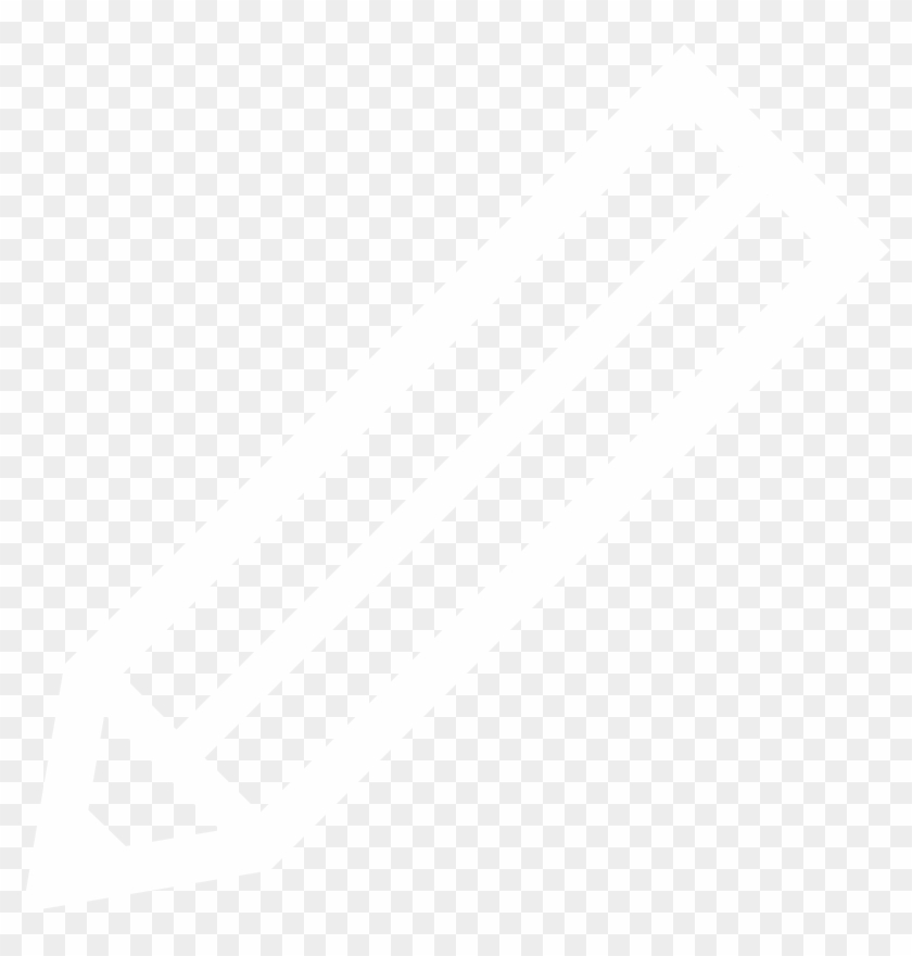 White Pencil - Pen Icon White Png Clipart@pikpng.com