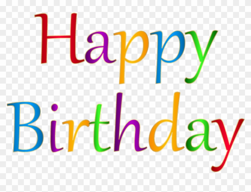 Download Happy Birthday Png Images Background - Happy Birthday Png Clipart #603779
