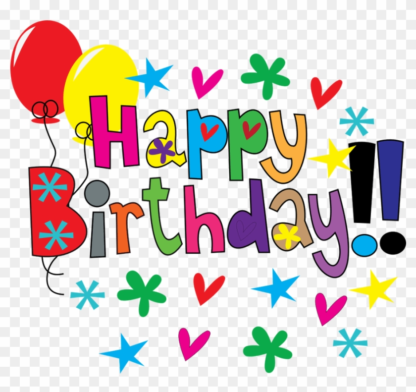 Printable Birthday Clipart At Getdrawings - Happy Birthday Images Clipart - Png Download #603856