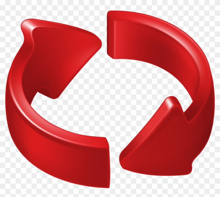 Arrow Clipart Circle Graphics - Red Circle Arrow Png Transparent Png #604004