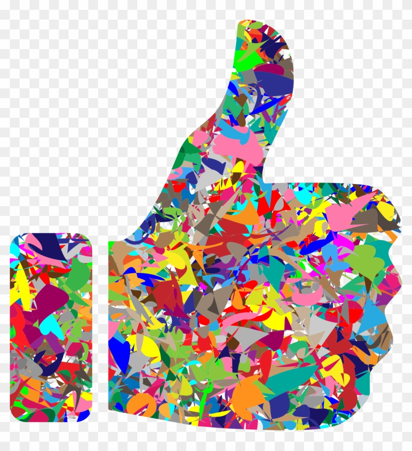 This Free Icons Png Design Of Modern Art Thumbs Up Clipart #605215