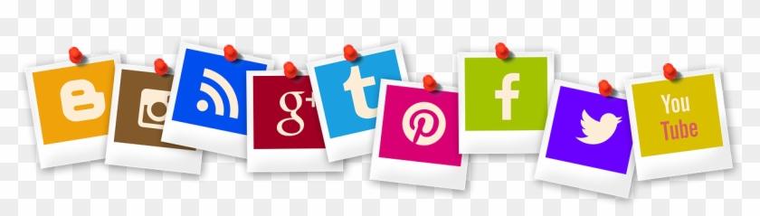 [0] Social Media Icons - Social Media Marketing Clipart #605242