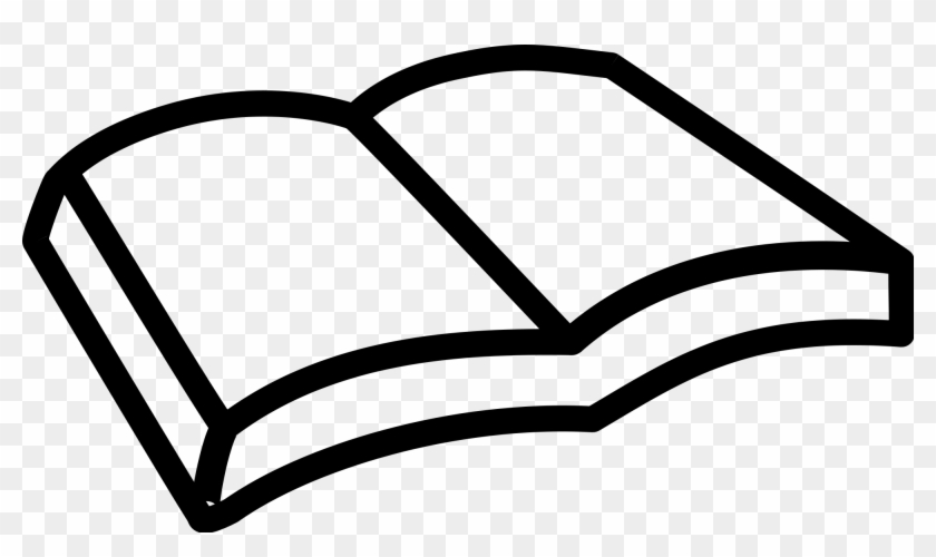 Book Black And White Png Book Icon Creative Commons Clipart 606285 Pikpng