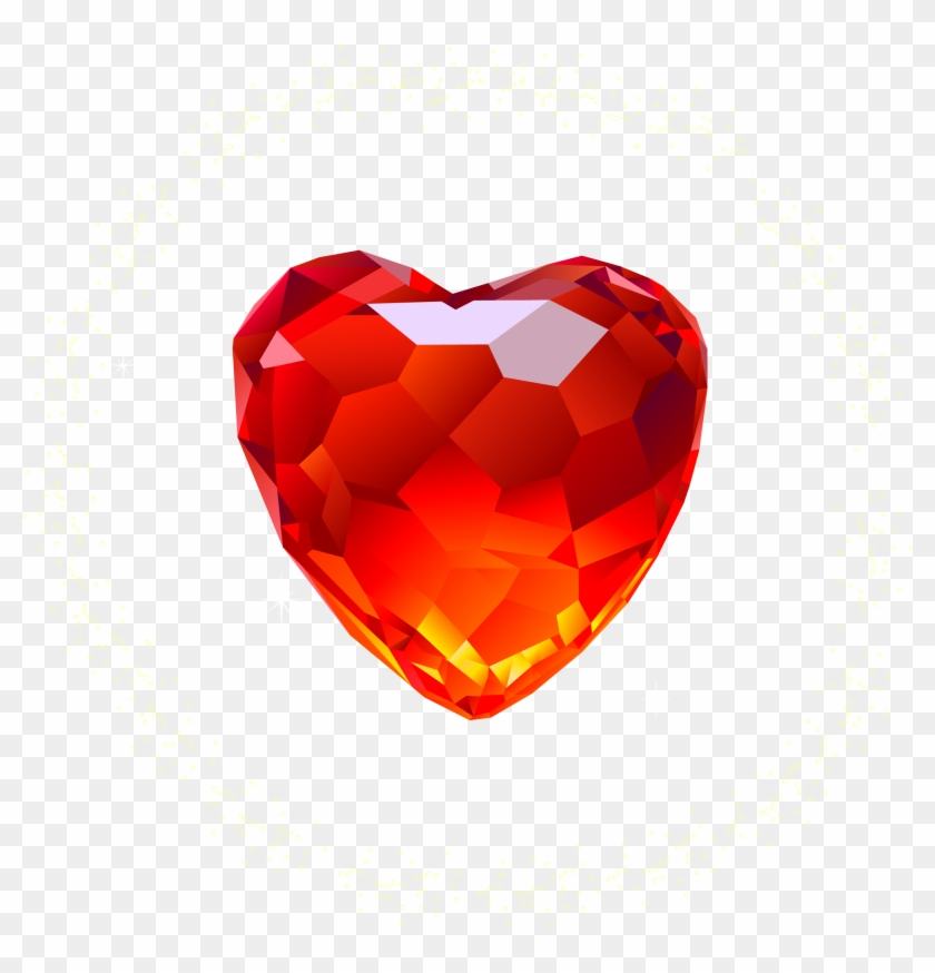 Heart Diamond Png Image Red Diamond Png Transparent Png