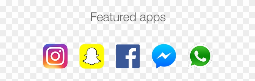 Animated Stories For Instagram Snapchat Facebook On - Facebook Whatsapp Instagram Messenger Clipart #607950