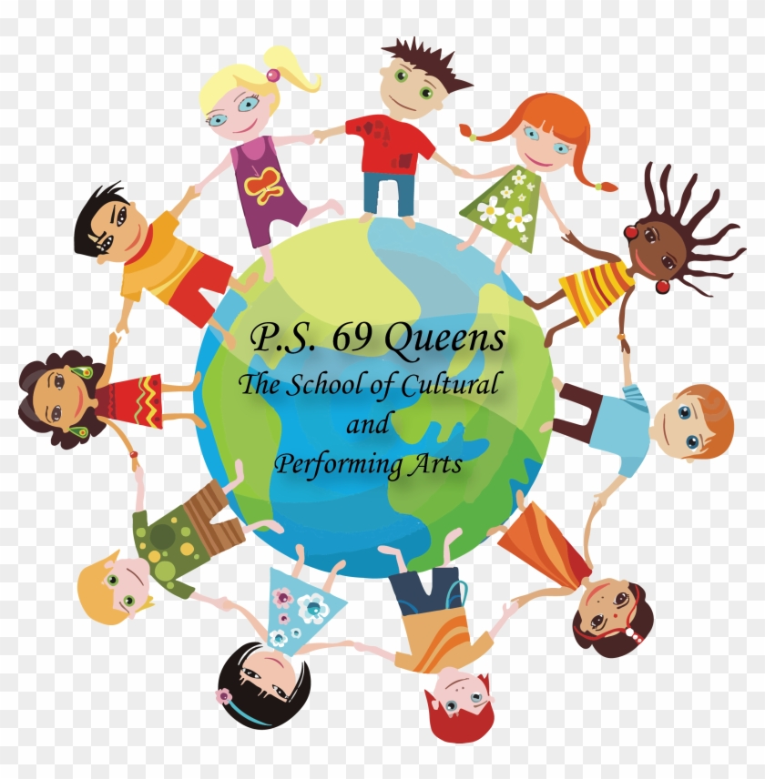 Kids Around The - Engage Your Students In Learning Clipart #6003527