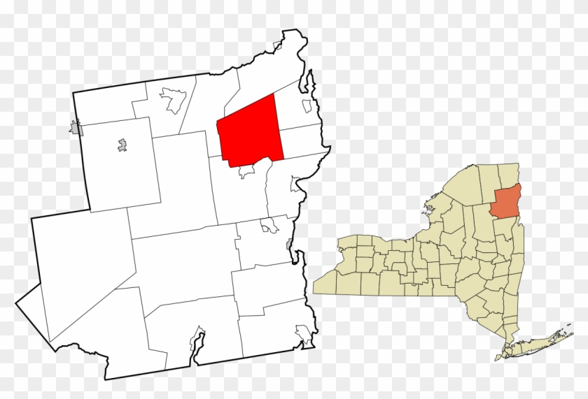 Upstate New York Map Clipart #6012976