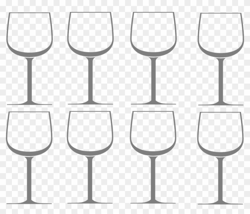 Wine Vector Graphics,free Pictures, - 와인 잔 프리 소스 Clipart #6014337