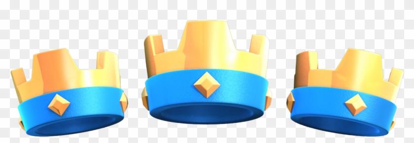 Mit Geduld Und Übung Kommen Kronen Von Alleine - Clash Royale King Crown Png Clipart #6029385