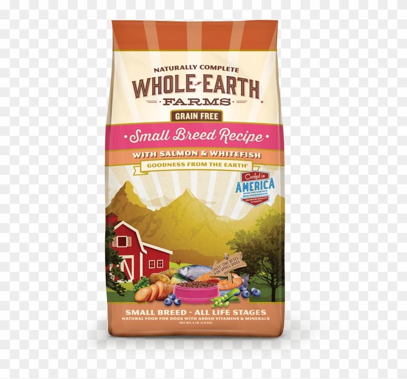 Whole Earth Farms Grain Free Small Breed Recipe With - Whole Earth Dog Food Clipart #6039304
