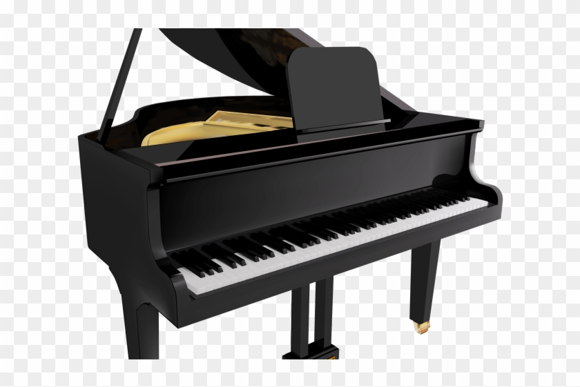 Free Piano Clipart - Aesthetic Piano Transparent Background - Png Download #6051099