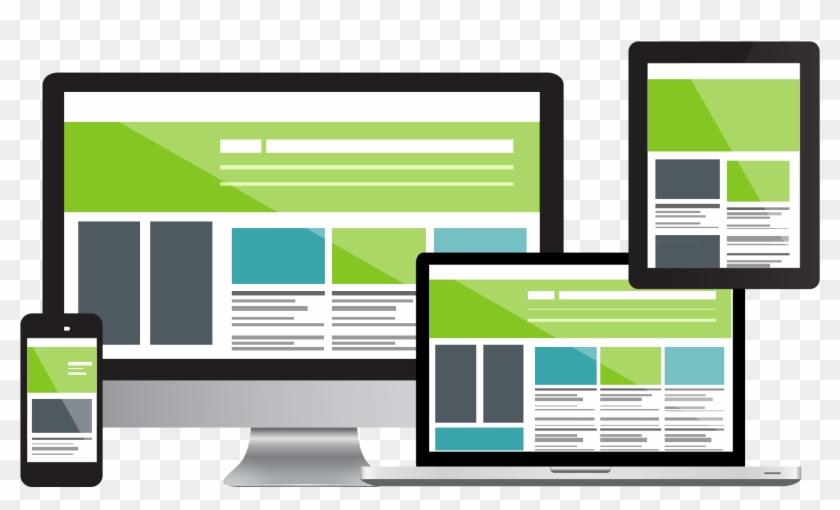 Responsive Web Design Company - Creazione Siti Web Clipart #6054918