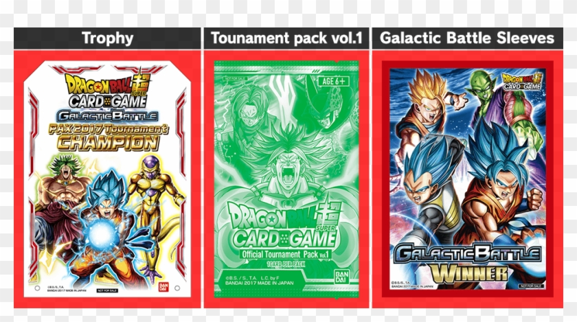 Prize - Dragon Ball Super Card Game Champion Trophy Clipart #6054931