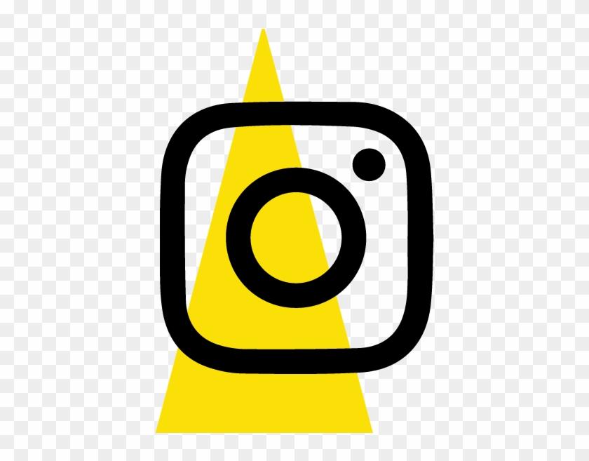 Instagram Icon Avalong Exchange Yellow Triangle Logo ...