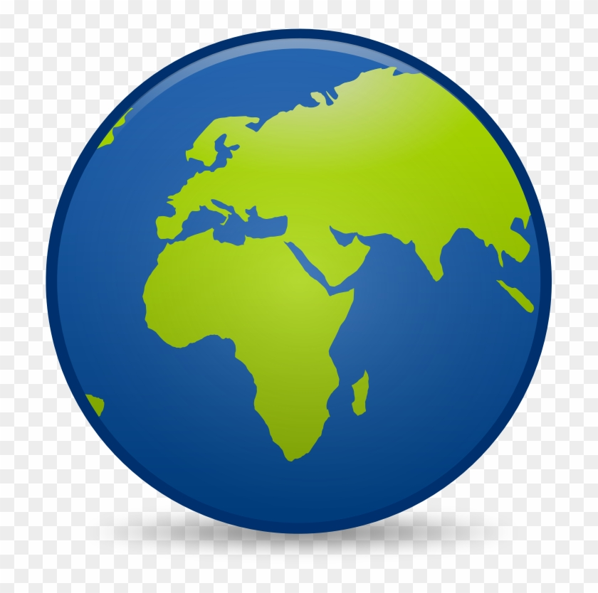 Globe To Use Free Download - World Map Clipart #611535