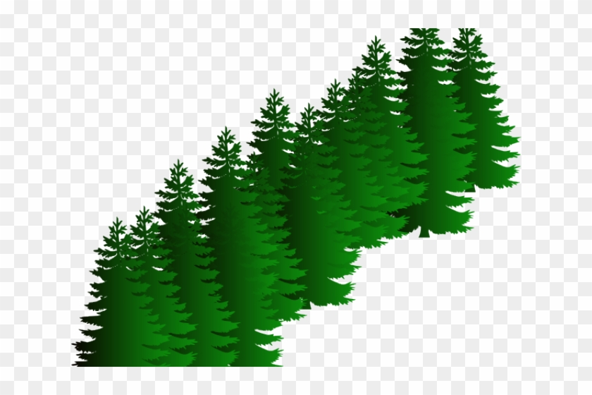 Fir Clipart Evergreen Tree - Pine Tree Silhouette - Png Download #615032