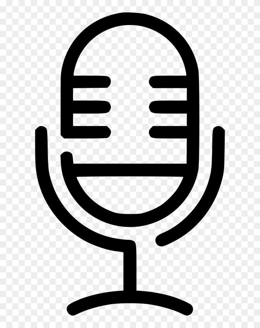 Microphone Icon On Iphone - Radio Studio Icon Clipart #615943