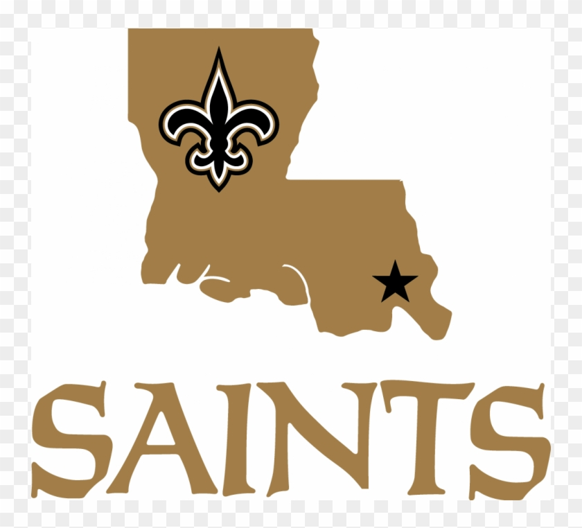 New Orleans Saints Football Clipart - New Orlean Saints Helmet Transparent  PNG - 1400x1200 - Free Download on NicePNG