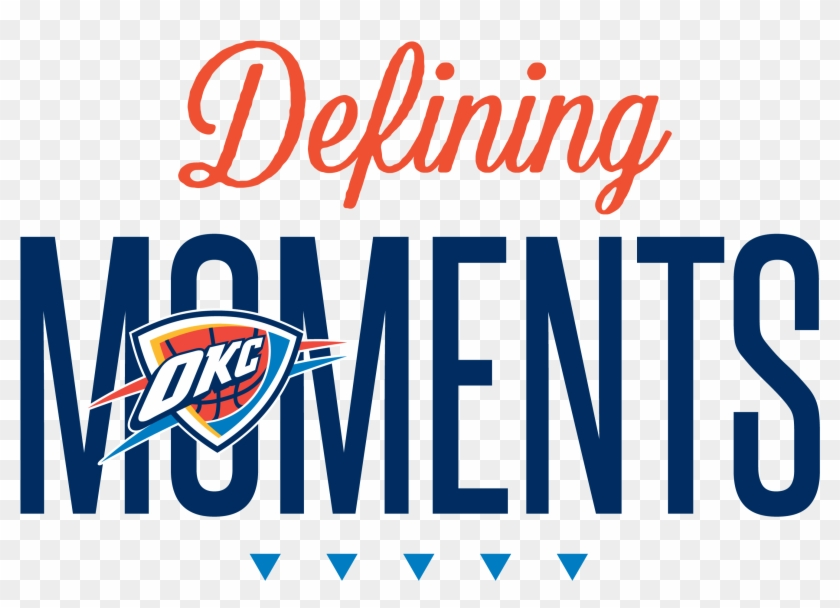 Ten Seasons Of Thunder Basketball Are Complete, With - Oklahoma City Thunder Clipart #618277