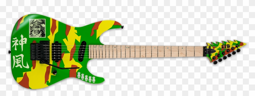 Colorful Guitar Png Esp George Lynch Clipart 619129 Pikpng