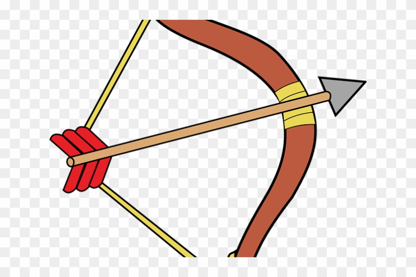 Image Of Bow And Arrow - Archery Bow And Arrow Clipart - Png Download #620211