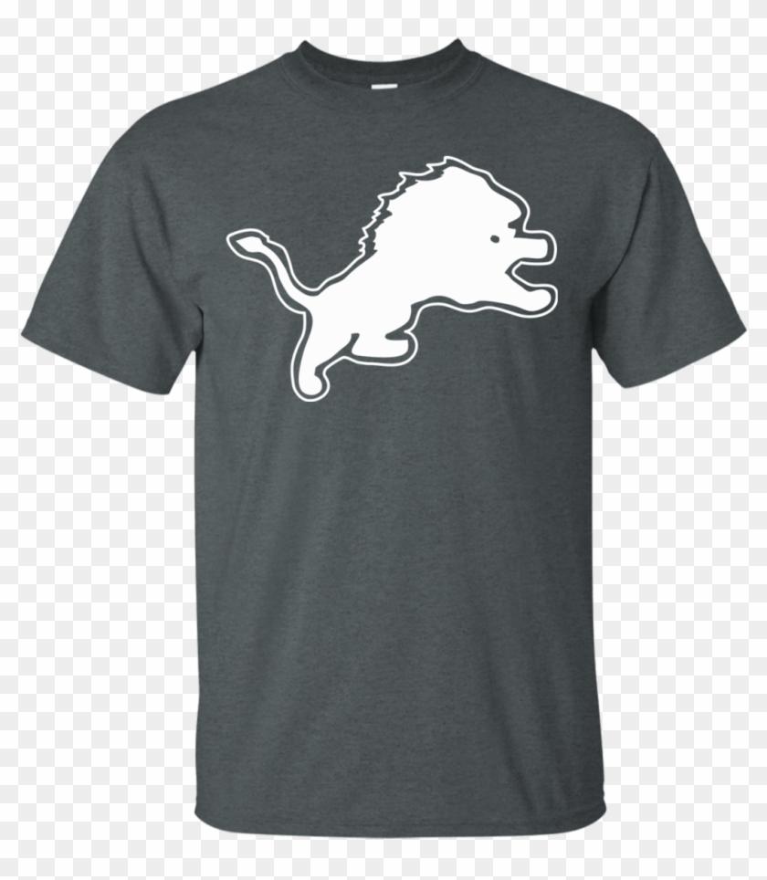 Detroit Lions Logo Football Men's T Shirt Clipart #621226