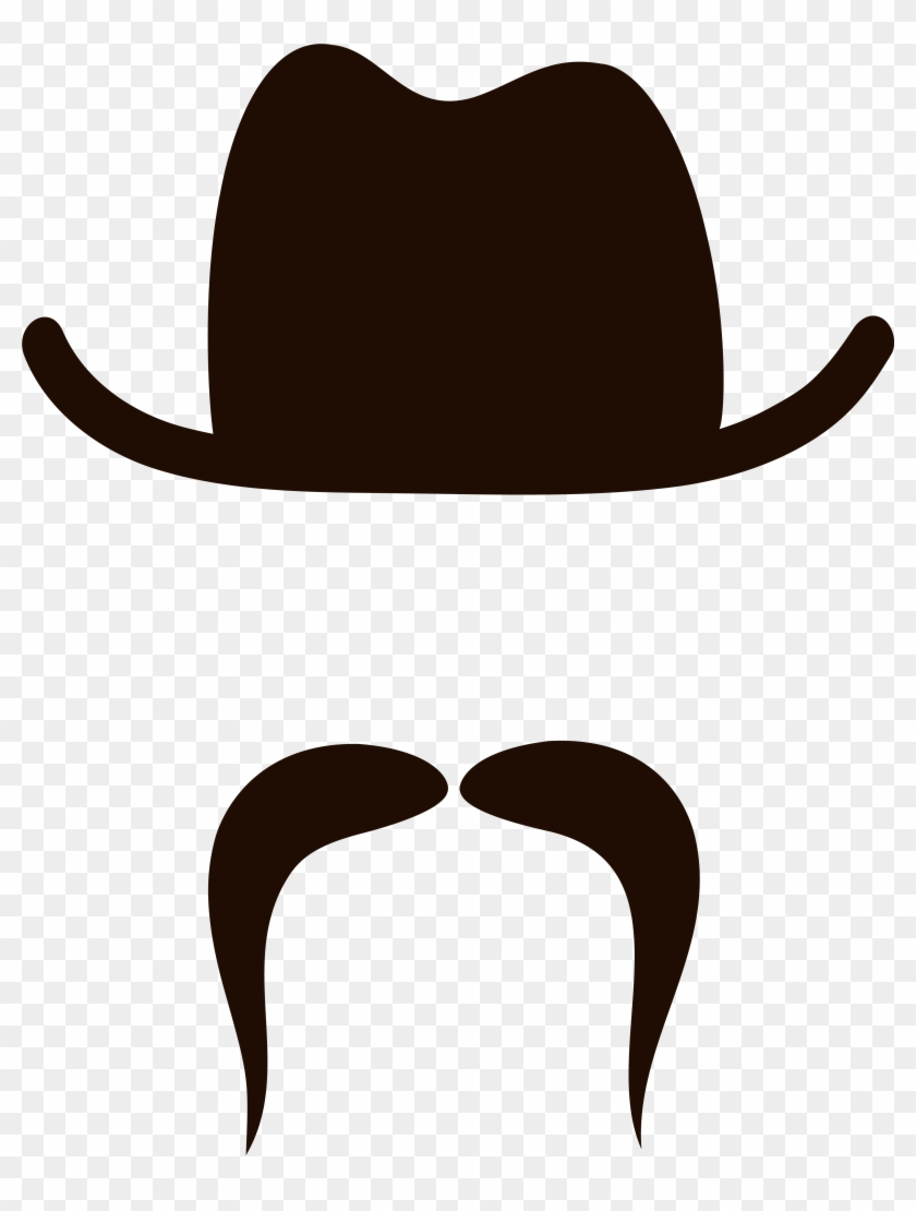 Movember Hat And Mustache Png Clipart Image - Hat And Mustache Png Transparent Png #622478