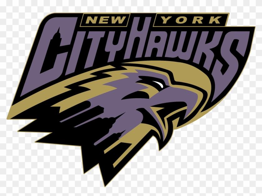 New York City Hawks Logo Png Transparent - Graphic Design Clipart #627345