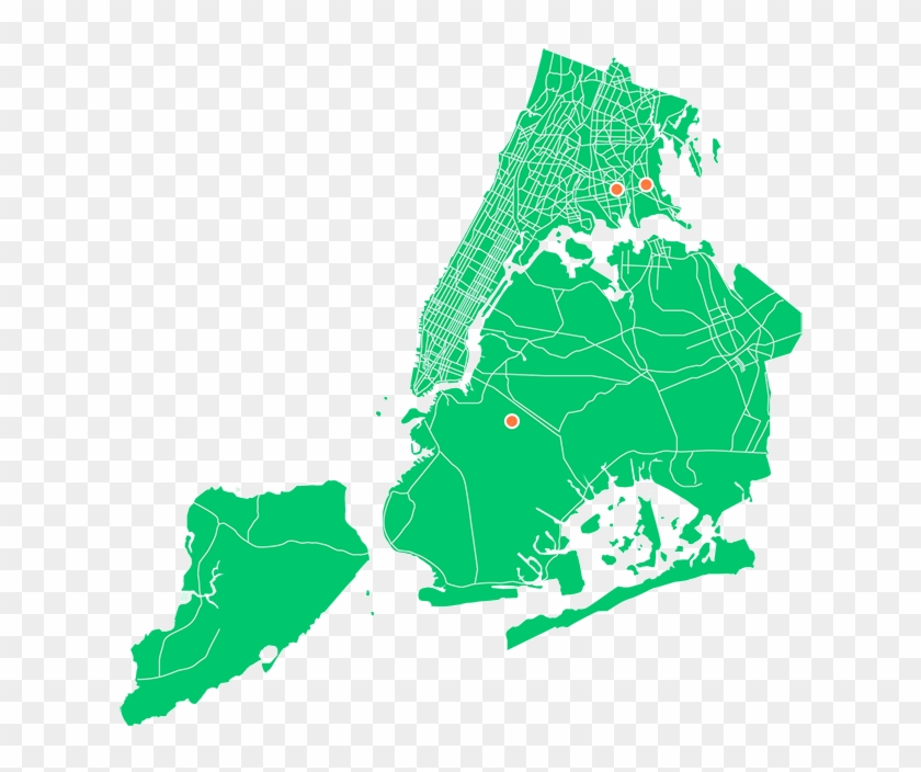 New York City Food Desert Map - Music Map Of The 80's Clipart #627395