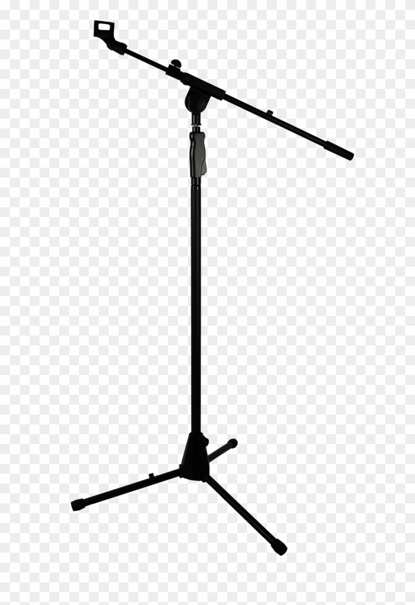 Microphone Stand Transparent Background - Transparent Microphone Stand Png Clipart #628072