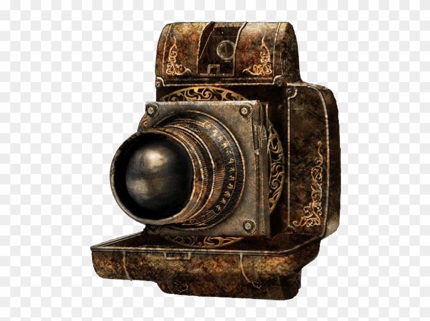 Camera Obscura Antique Camera - Camera Antique Png Clipart #631284