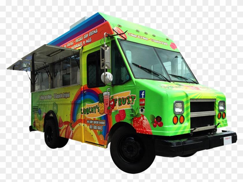 Cunchys Fruit Snow Cone Food Truck - Loncheras De Comida En Venta En Los Angeles Clipart #631860