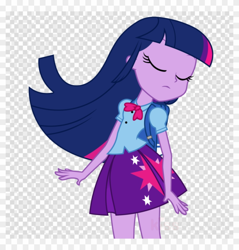 Download My Little Pony Equestria Girls Twilight Sparkle Twilight My Little Pony Equestria Girl Clipart 632308 Pikpng