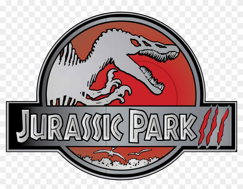 Jurassic Park Iii Logo Png Transparent - Jurassic Park 3 Logo Clipart #634646