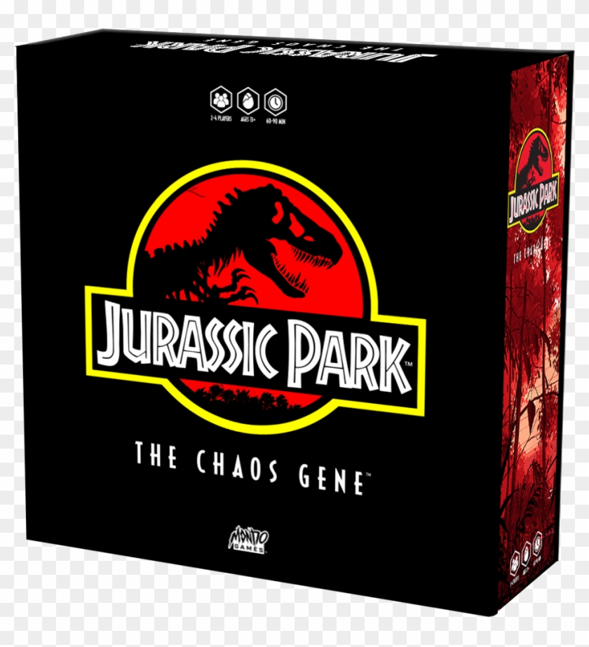 We Are Celebrating 25 Years Of Dinosaur Chaos With - Jurassic Park The Chaos Gene Clipart #634675