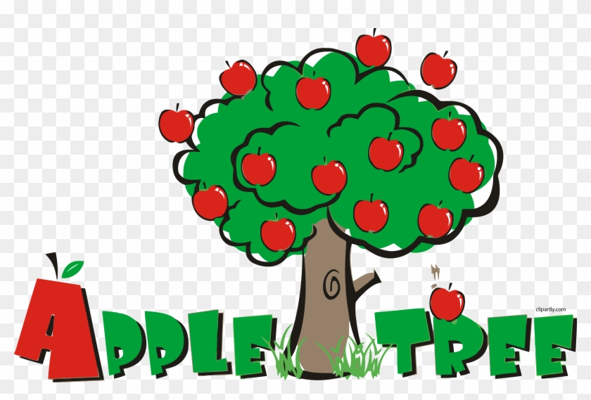 Apple Tree Pre School Clipart Png - Apple Tree Clipart Png Transparent Png #634781