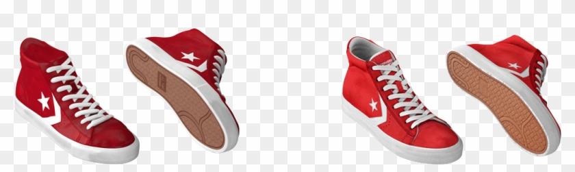 Converse-06 - Skate Shoe Clipart #637146
