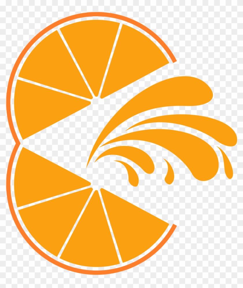 Orange Juice Drink Logo Free Elements Objects - Logo Jugo De Naranja Clipart #638095
