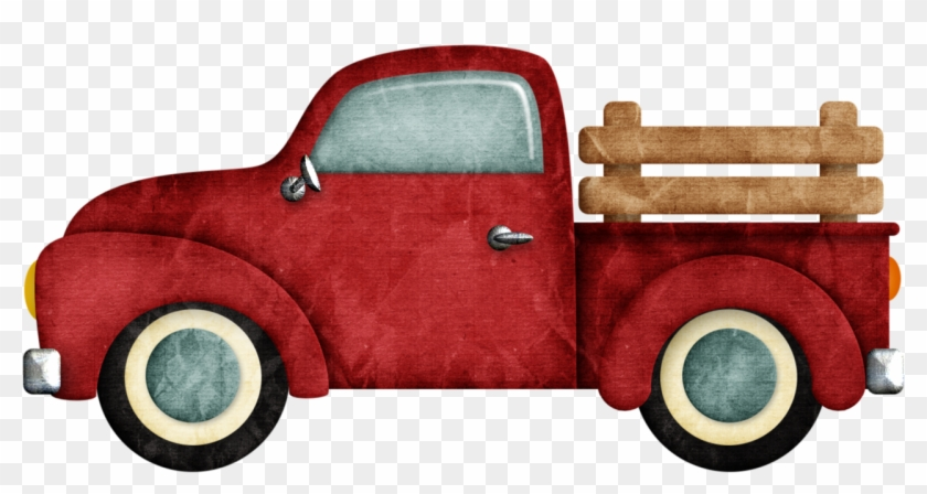 B *✿* Happy Camper Vintage Pickup Trucks, Old Trucks, - Old Truck Clipart Png, Transparent Png #639921