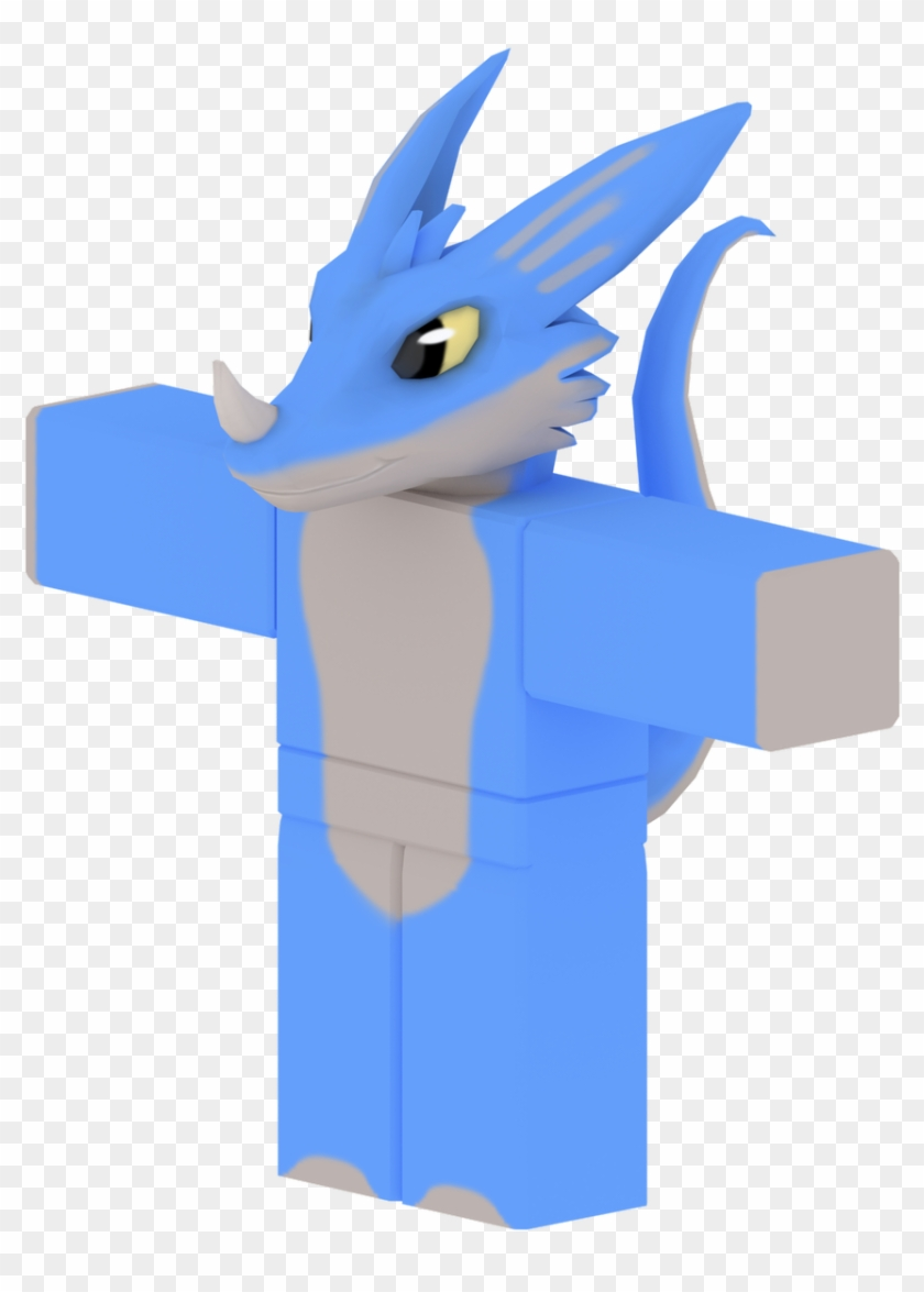 Blu Dragoon On Twitter Roblox Dragon Body Clipart 642477 Pikpng
