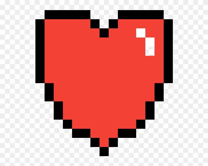 Cute Heart - Pixel Art Rainbow Heart Clipart (#653468 ...