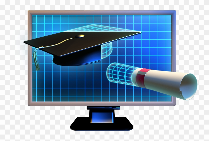 E Learning Transparent Images - Computer Monitor Clipart #655139