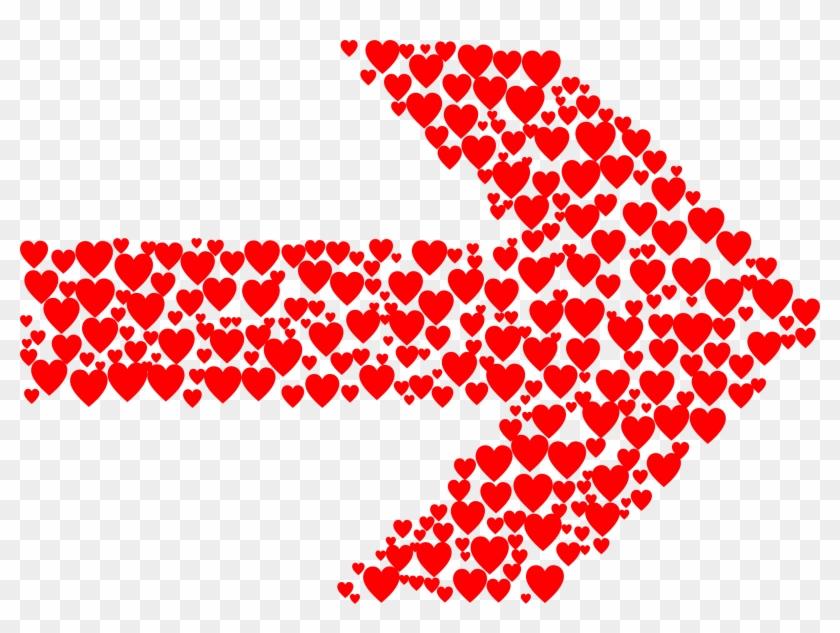 Hearts Arrow - Arrow Of Hearts Clipart #657857
