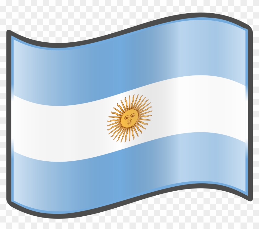 Open Argentina Flag Gif Transparent Clipart 660466 Pikpng