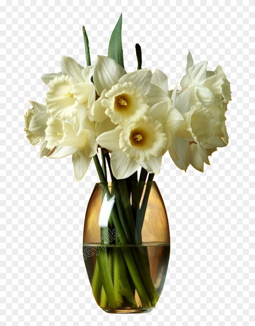 022 Flower Vase Png Images Watermarkimage C2h1axlpbl9uzxcucg5ng - Good Night White Flowers Clipart #663781