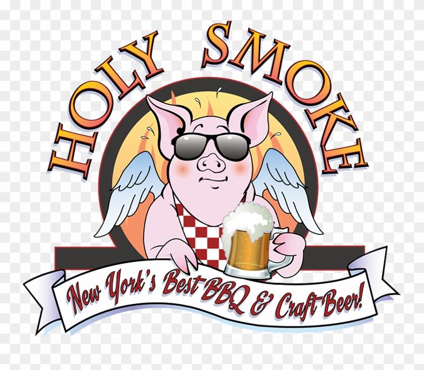 Holy Smokes Bbq Logo Clipart #664938