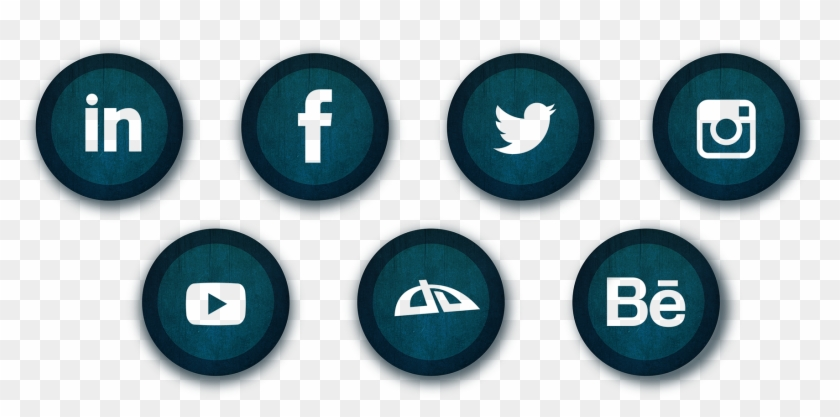 Contact Buttons Png - Png Whatsapp Facebook Instagram Twitter Clipart #666300
