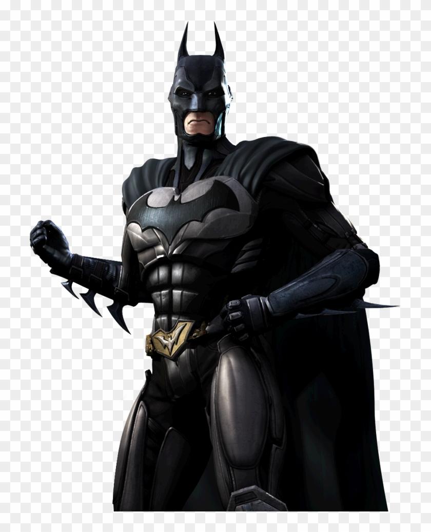 Bruce Wayne Gods Among Us Dc Database - Mortal Kombat X And Injustice 2 Clipart #667850