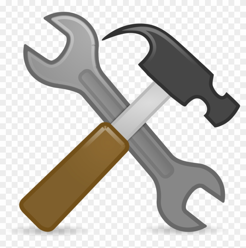 System Preferences Big Image Png Ⓒ - Hammer And Tools Clipart, Transparent Png #670129